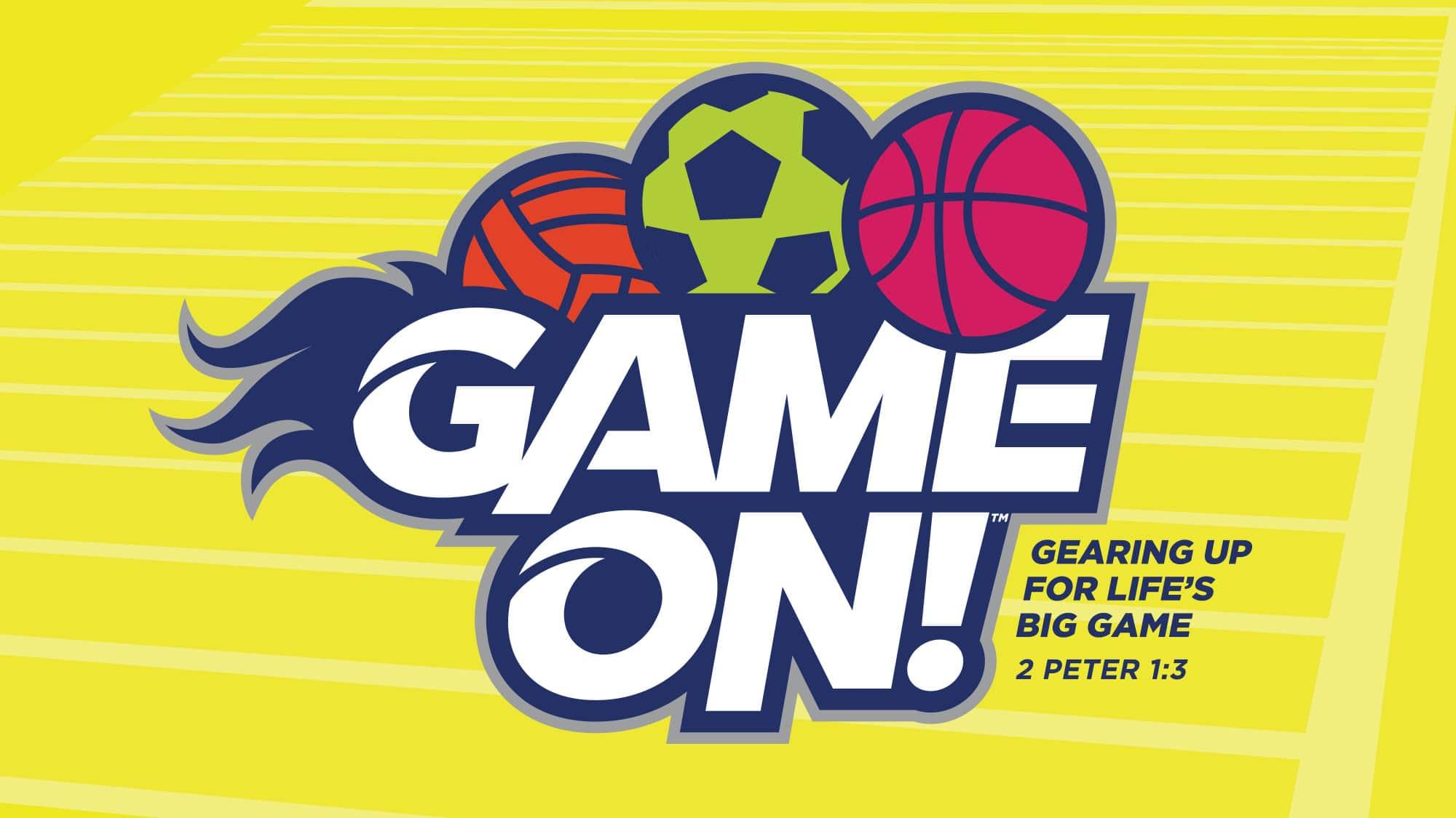 Game On VBS Logo